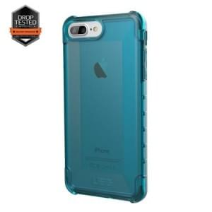 Urban Armor Gear Plyo Case I Apple iPhone 8 Plus / 7 Plus I Glacier blau transparent