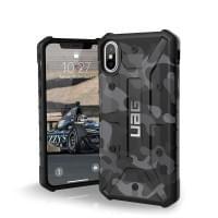 Urban Armor Gear Pathfinder Case I Schutzhülle für iPhone X / Xs I Schwarz / Camo