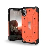 Urban Armor Gear Pathfinder Case I Schutzhülle für iPhone X / Xs I Rust Orange