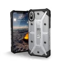Urban Armor Gear Plasma Case I Schutzhülle für iPhone X / Xs I Ice transparent