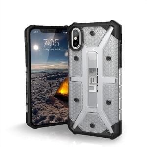 Urban Armor Gear Plasma Case I Schutzhülle für iPhone X / Xs I Ice transparent