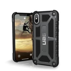 Urban Armor Gear Monarch Case I Schutzhülle für iPhone X / Xs I Graphite