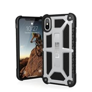 Urban Armor Gear Monarch Case I Schutzhülle für iPhone X / Xs I Platinum