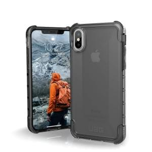 Urban Armor Gear Plyo Case I Schutzhülle für iPhone X / Xs I Ash transparent