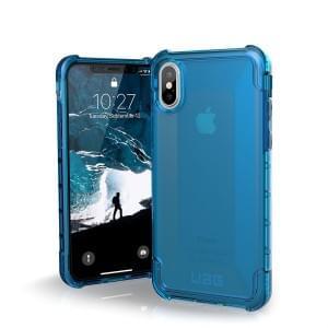 Urban Armor Gear Plyo Case I Schutzhülle für iPhone X / Xs I Glacier blau transparent