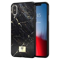 Richmond & Finch iPhone Xs Max Cover Black Marble