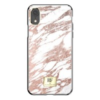 Richmond & Finch iPhone Xs Max Cover Rose Gold Marble weiß