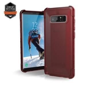 Urban Armor Gear Plyo Schutzhülle | Samsung Galaxy Note 8 | Crimson (rot transparent)