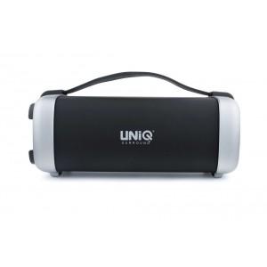 UNIQ Boombox Bluetooth Lautsprecher Schwarz