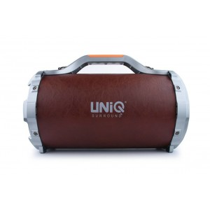 UNIQ Karaoke XL Bluetooth Lautsprecher Braun