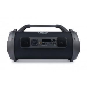 UNIQ Sing Karaoke Bluetooth Lautsprecher Schwarz
