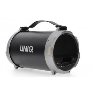 UNIQ Bass Bluetooth Lautsprecher Schwarz