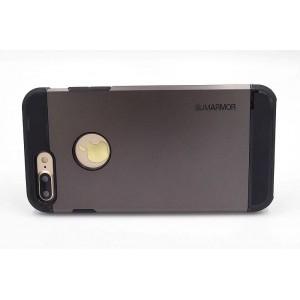 SPIGEN Hybrid Slim Armor II Hülle / Case iPhone 8 Plus / 7 Plus Schwarz