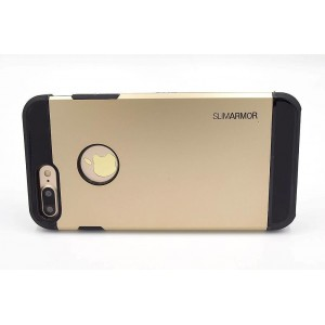 SPIGEN Hybrid Slim Armor II Hülle / Case iPhone 8 Plus / 7 Plus Gold