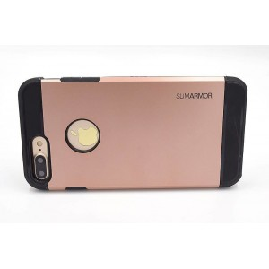 SPIGEN Hybrid Slim Armor II Hülle / Case iPhone 8 Plus / 7 Plus Rose Gold