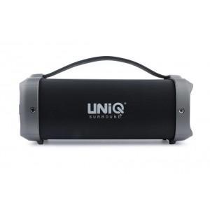 UNIQ Cube Bluetooth Lautsprecher Schwarz