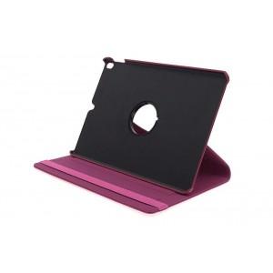 Ledertasche PU Leder Rotation für iPad Air 3 2019 mit Standfunktion Pink