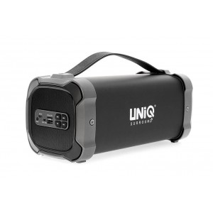 UNIQ Club Bluetooth Lautsprecher Schwarz