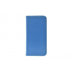 Premium Handytasche / Book Case für iPhone XS / X Blau