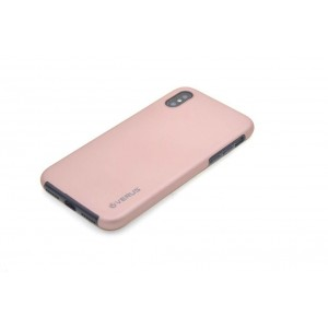 VERUS Full Body Dual Schutzhülle iPhone XS / X Rose Gold