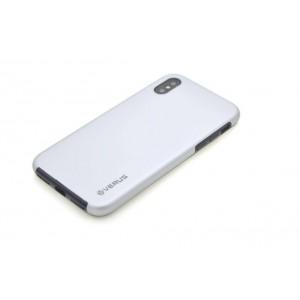 VERUS Full Body Dual Schutzhülle iPhone XS / X Silber