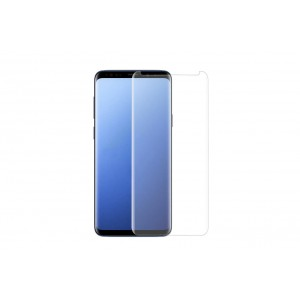 Panzerglas / Tempered Glass 3D für Samsung Galaxy S9 Plus Transparant