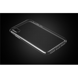Ultra Slim TPU Case / Hülle für iPhone X / Xs Transparent