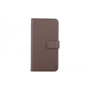 Handytasche / Handyhülle Book Case für iPhone XR Braun