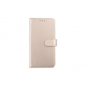 Handytasche / Handyhülle Book Case für iPhone XS Max Gold