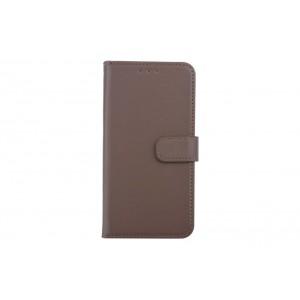 Handytasche / Handyhülle Book Case für iPhone XS Max Braun