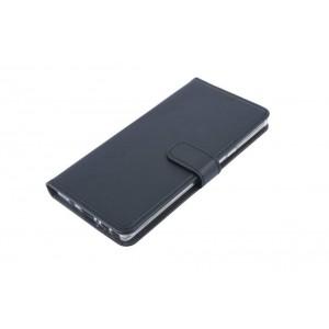 Book Style Ledertasche für Samsung Galaxy Note 9 Schwarz