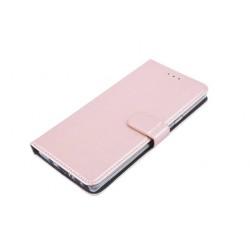 Book Style Ledertasche für Samsung Galaxy Note 9 Rose Gold