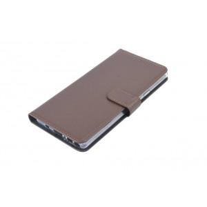 Book Style Ledertasche für Samsung Galaxy Note 9 Braun