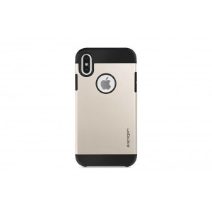 Spigen Slim Hybrid Hülle / Backcover für iPhone XS Max Gold