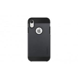 SPIGEN Slim Hybrid Hülle / Backcover für iPhone XR Schwarz