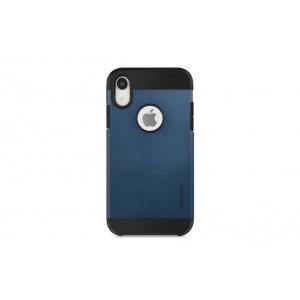 SPIGEN Slim Hybrid Hülle / Backcover für iPhone XR Dunkel Blau
