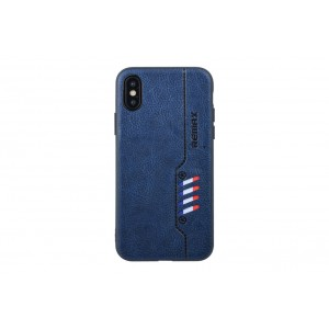 Remax Hülle / Backcover für iPhone XS / X Blau
