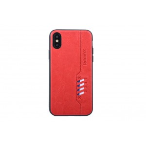 Remax Hülle / Backcover für iPhone XS / X Rot