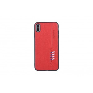 Remax Hülle / Backcover für iPhone XS Max Rot