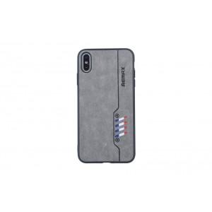 Remax Hülle / Backcover für iPhone XS Max Grau
