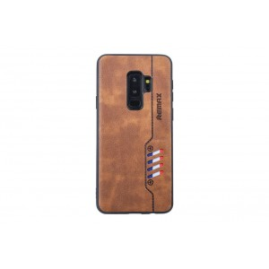 Remax Hülle / Backcover für Samsung Galaxy S9 Plus Braun