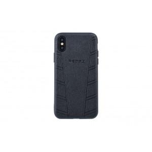 Remax Hülle / Hard Case für iPhone XS / X Schwarz