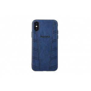 Remax Hülle / Hard Case für iPhone XS / X Blau
