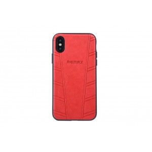 Remax Hülle / Hard Case für iPhone XS / X Rot