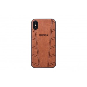 Remax Hülle / Hard Case für iPhone XS / X Braun