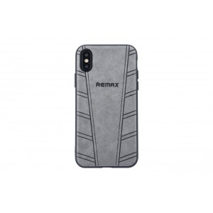 Remax Hülle / Hard Case für iPhone XS / X Grau