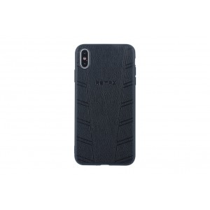 Remax Hülle / Hard Case für iPhone XS Max Schwarz