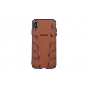 Remax Hülle / Hard Case für iPhone XS Max Braun