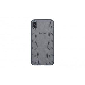 Remax Hülle / Hard Case für iPhone XS Max Grau
