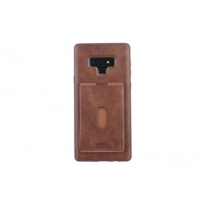 UNIQ Card Case / Hülle für Samsung Galaxy Note 9 Braun